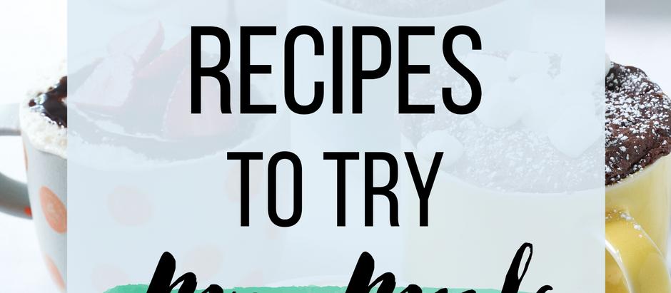 20 Easy Recipes to Try: Mug Meals