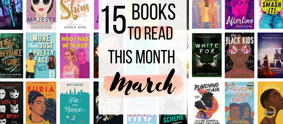10+ Books to Look Out For This March!!!
