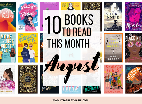 10 Books Coming Out This Month: August