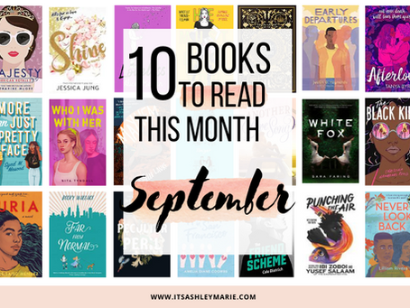 10+ Books to Anticipate this Month: September 2020