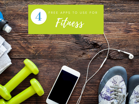 4 Free Apps to Use For Fitness
