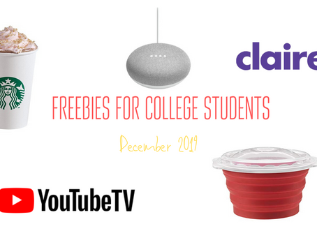 December Freebies for College Students