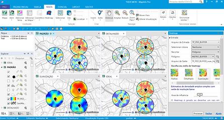 HeatMap MapInfo Pro v2019