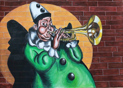 Man with the trumpet