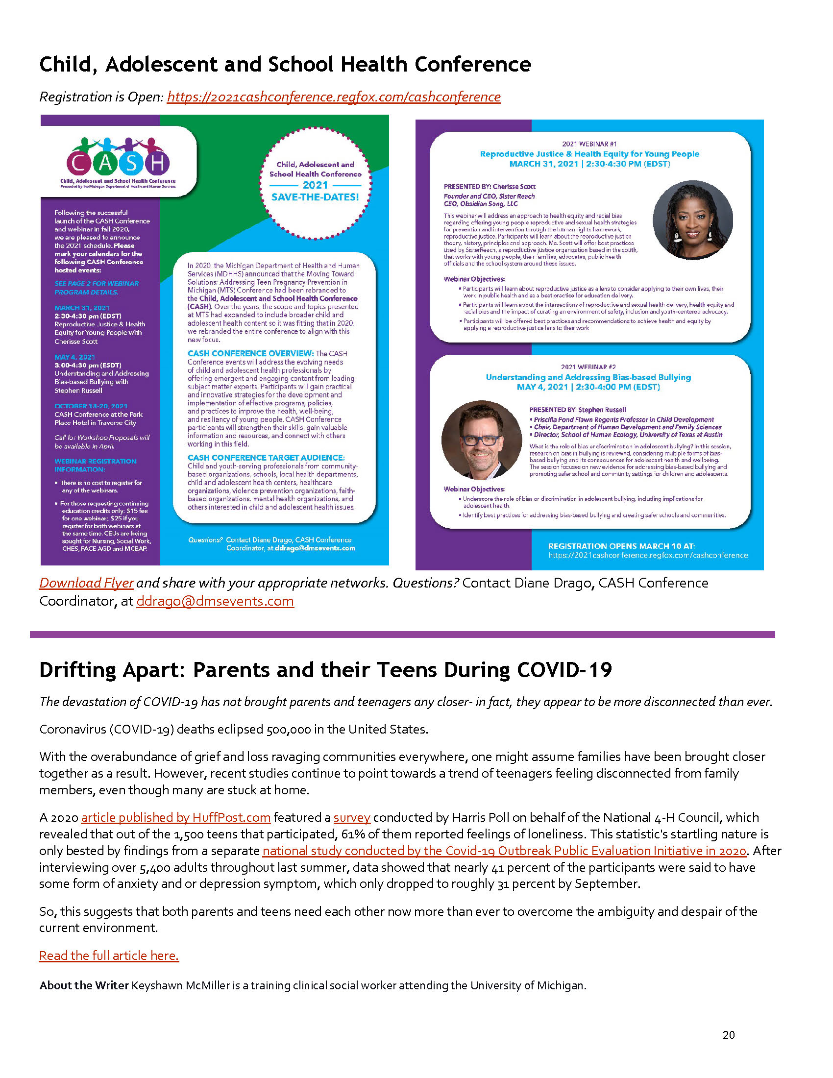 2021 Spring PN Newsletter - Page 20