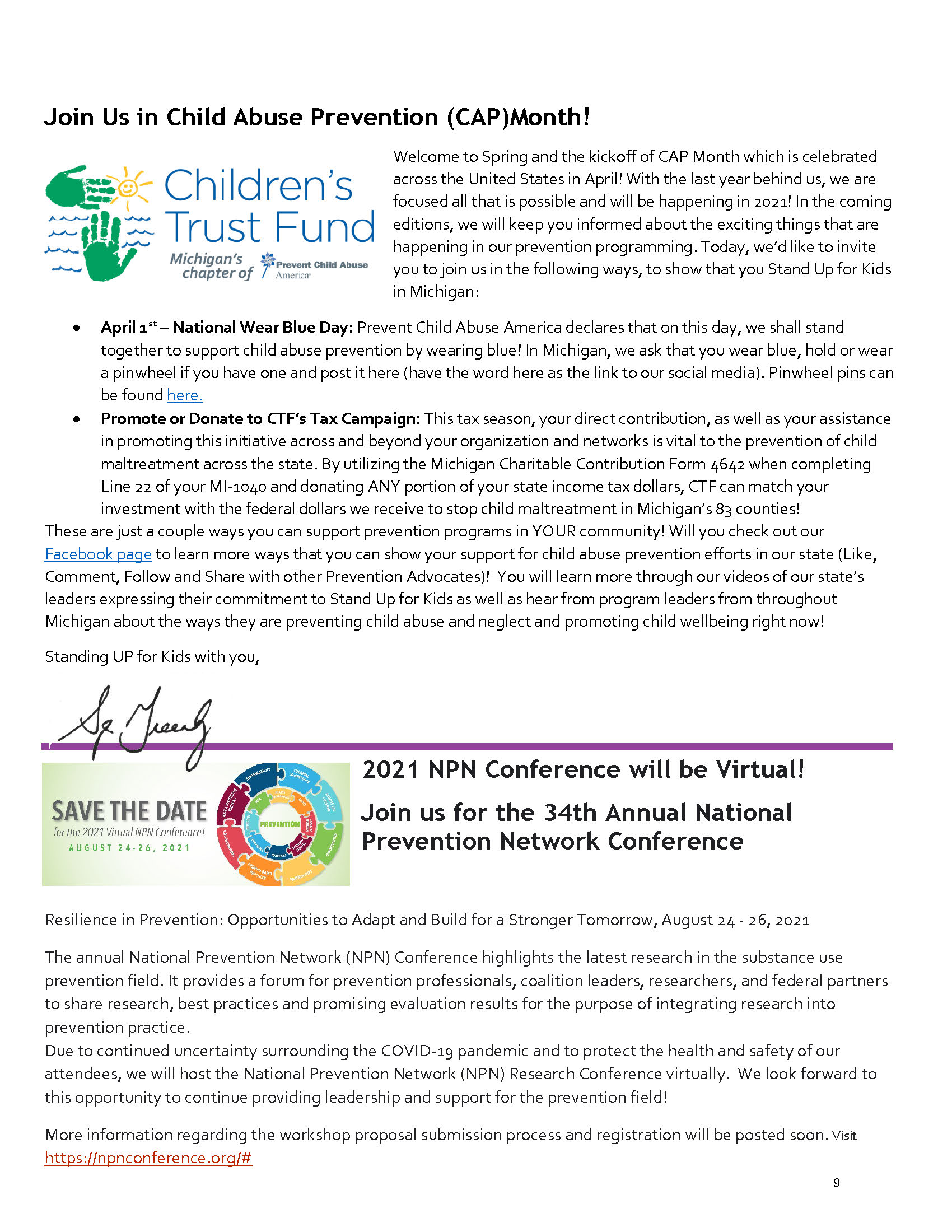 2021 Spring PN Newsletter - Page 9