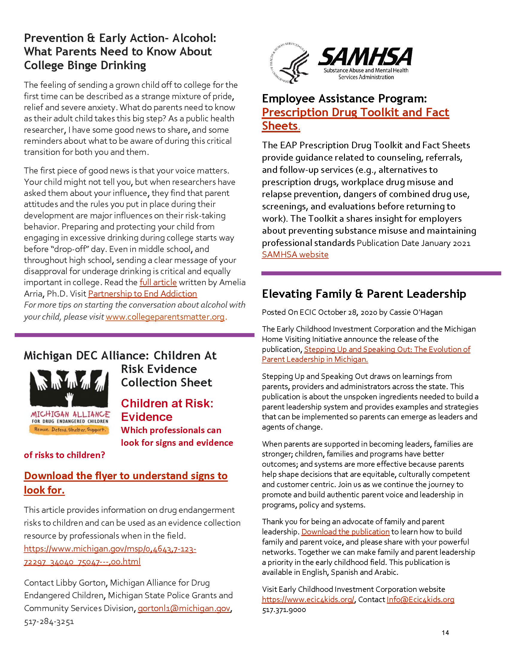 2021 Spring PN Newsletter - Page 14