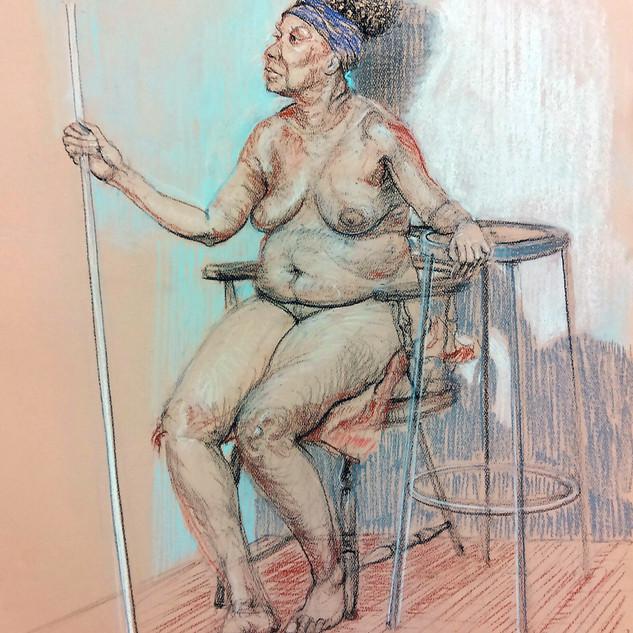 Catherine life drawing