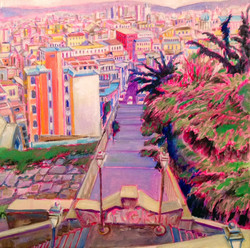 Napoli, view towards Spanish quarter