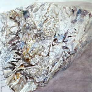 untitled 8 (tinfoil portrait)