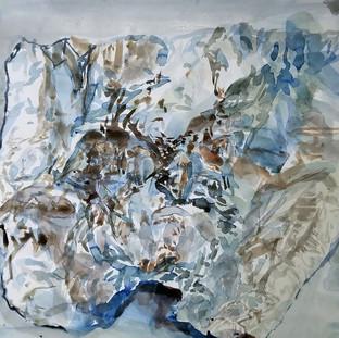 untitled 3 (tinfoil portrait)