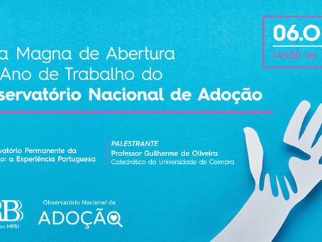 OBNAD promove webinar com professor Guilherme de Oliveira, de Coimbra
