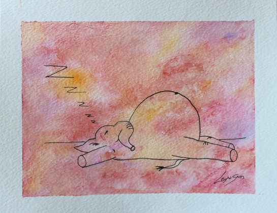Sleepy Elephant