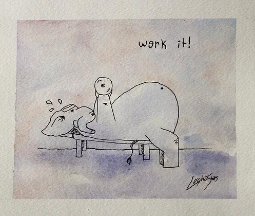 Werk it Elephant