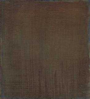 Gospel XIII, 2019, oil on panel, 30x27 cm.