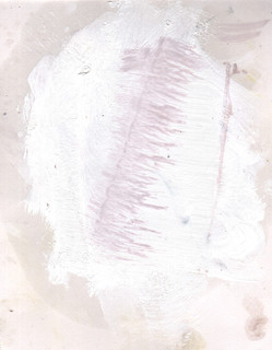 Painters Mind XV, 2019, oil on paper, 23x17 cm.