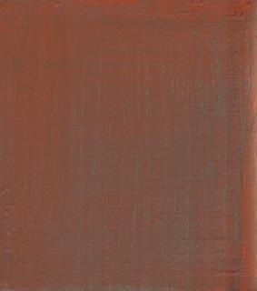 Gospel VI, 2019, oil on panel, 30x27 cm.