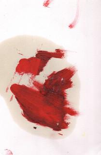 Painters Mind XVIII, 2019, oil on paper, 23x17 cm.