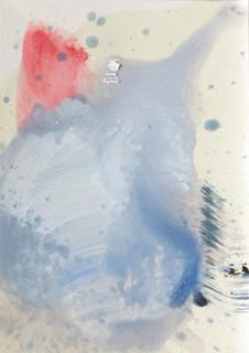 Breath, 2016 oil on paper, 20x30 cm.