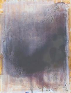 Ik ben er geweest, 2012, olieverf op papier, 65x50 cm