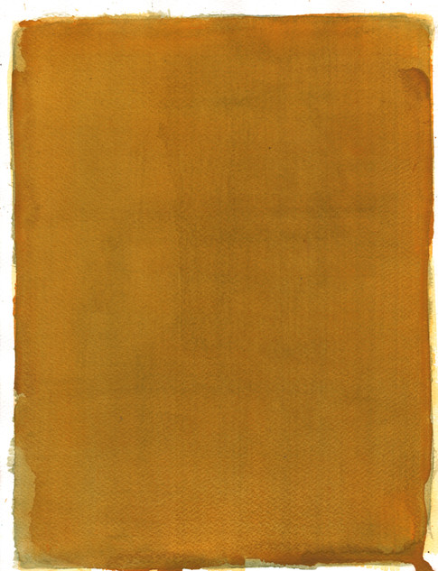 Affect X, 2018, watercolor on paper, 35x27 cm.