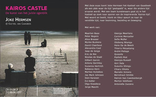 Kairos Castle, Kasteel van Gaasbeek, idee en samenstelling Joke Hermsen en Jaap de Jonge.