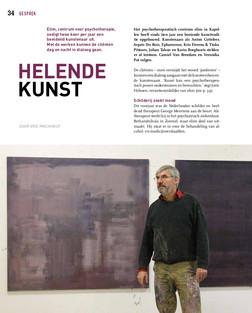 Helende kunst door Eric Rinckhout voor Zaal Z, magazine Museum voor Schone Kunsten, Antwerpen, mei 2019