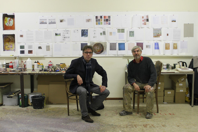 Meeting with Joost Zwagerman (1963-2015) at the studio