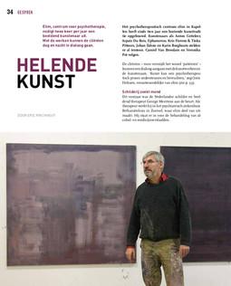 Helende Kunst, Zaal Z,Jg. 8, Nr. 29, jun-aug 2019,  magazine Koninklijk Museum  voor Schone Kunsten,  Antwerpen (B) www.kmska.be