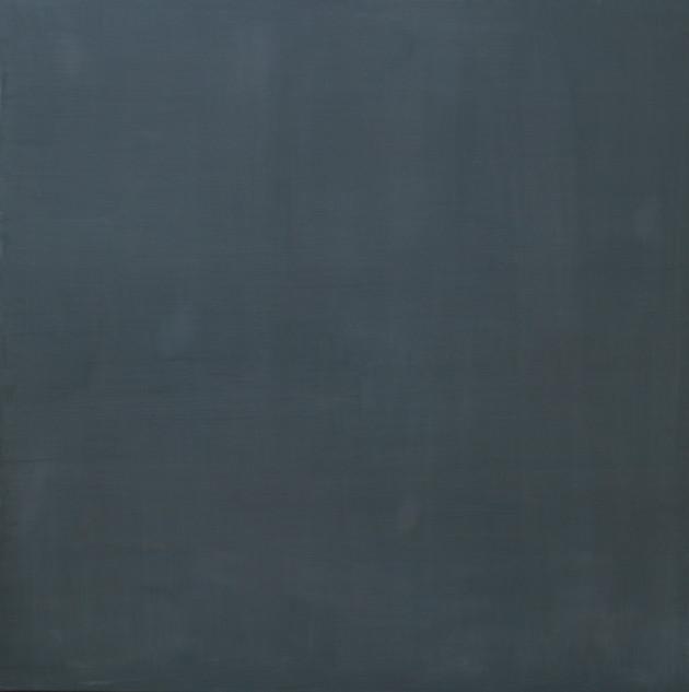 Damaged Day, 2018, oil on linen, 100x100 cm (collection Mark Rothko Art Centre, Daugavpils (LV)