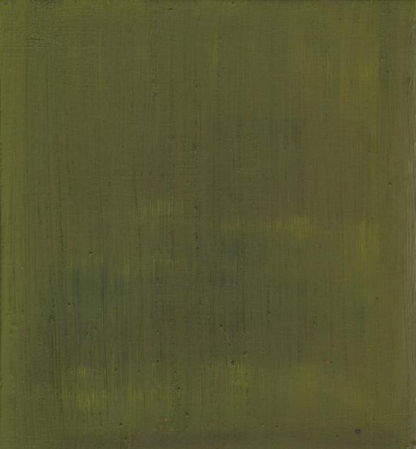 Gospel I, 2019, oil on panel, 30x27 cm.