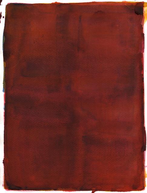 Affect VI, 2018, watercolor on paper, 35x27 cm.