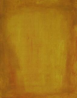 Golden Letter I, 2016, oil on paper, 40x30 cm.