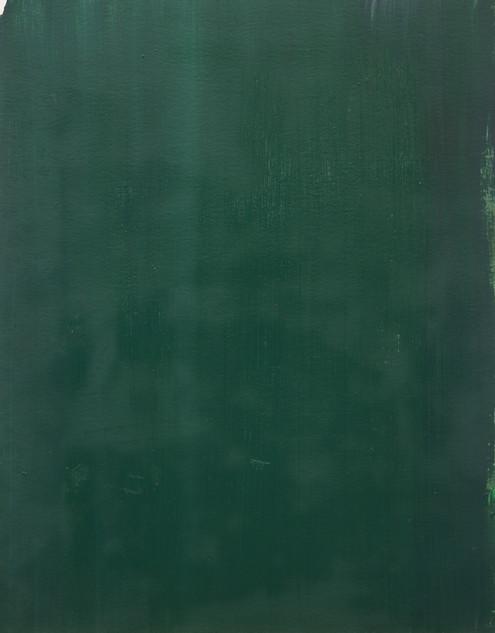 Study IX (MR), 2018, oil on paper, 42x35 cm.