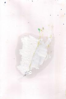 Painters Mind XI, 2019, oil on paper, 23x17 cm.