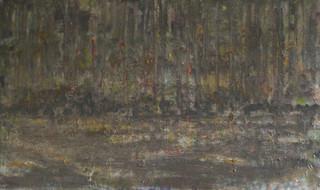 Getijden-lamento, olieverf op doek, 60x1