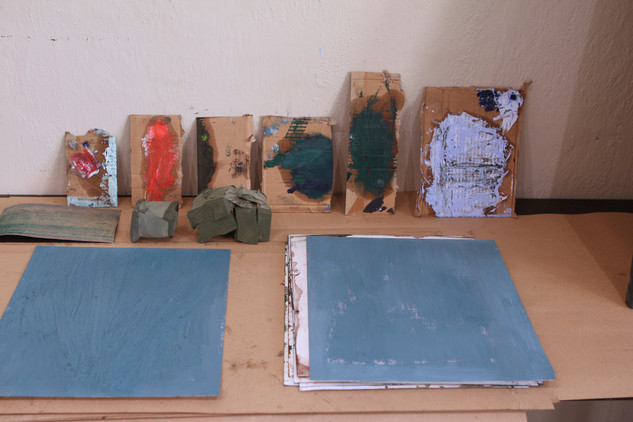Studio at the Mark Rothko Art Centre, Daugavpils (LV)