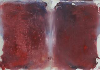 Heart, 2016, oil on paper, 30x40 cm.