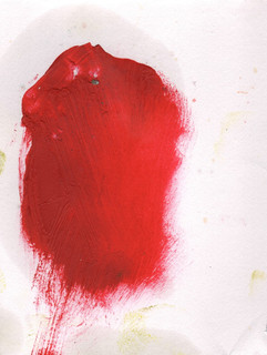 Painters Mind I, 2019, oil on paper, 23x17 cm.