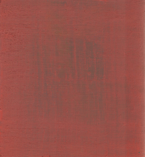 Gospel IV, 2019, oil on panel, 30x27 cm.
