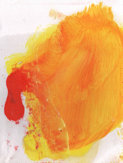 Painters Mind IV, 2019, oil on paper, 23x17 cm.