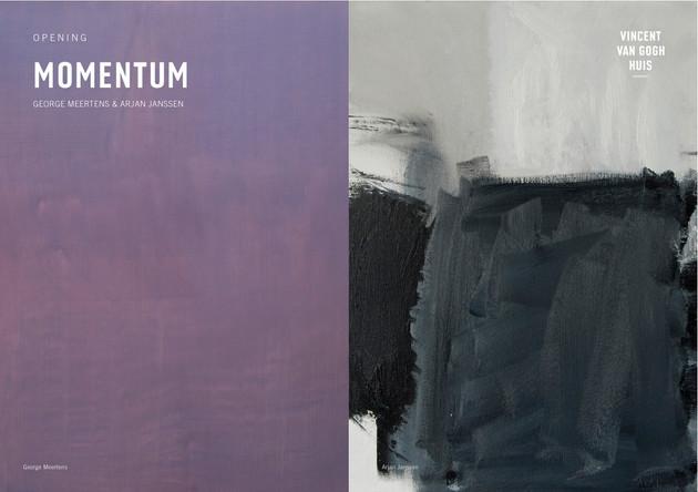 Momentum, Arjan Janssen en George Meertens, Vincent van Gogh Huis, Zundert, februari 2017