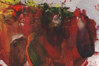 Painters Mind VIII, 2019, oil on paper, 23x17 cm.