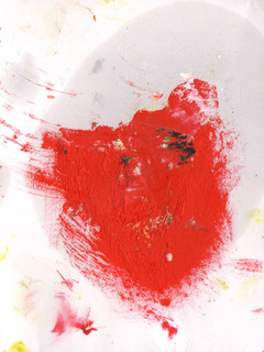 Painters Mind II, 2019, oil on paper, 23x17 cm.