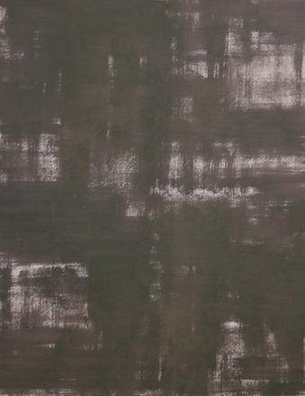De donkere nacht VI, olieverf op papier,