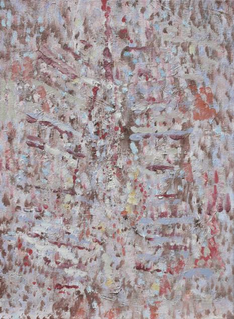 Transfiguratie van het lichaam van Christus, 2010, olieverf op doek, 60x40 cm.