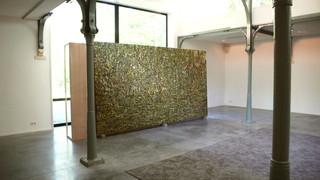 De bossen buiten Clairvaux, 2002-2008, olieverf op doek, 225x425 cm, Hilvaria Studio's, Hilvarenbeek, 2010.