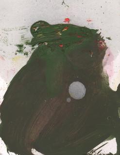 Painters Mind VI, 2019, oil on paper, 23x17 cm.
