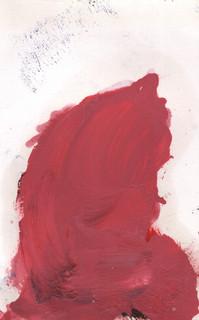Painters Mind X, 2019, oil on paper, 23x17 cm.