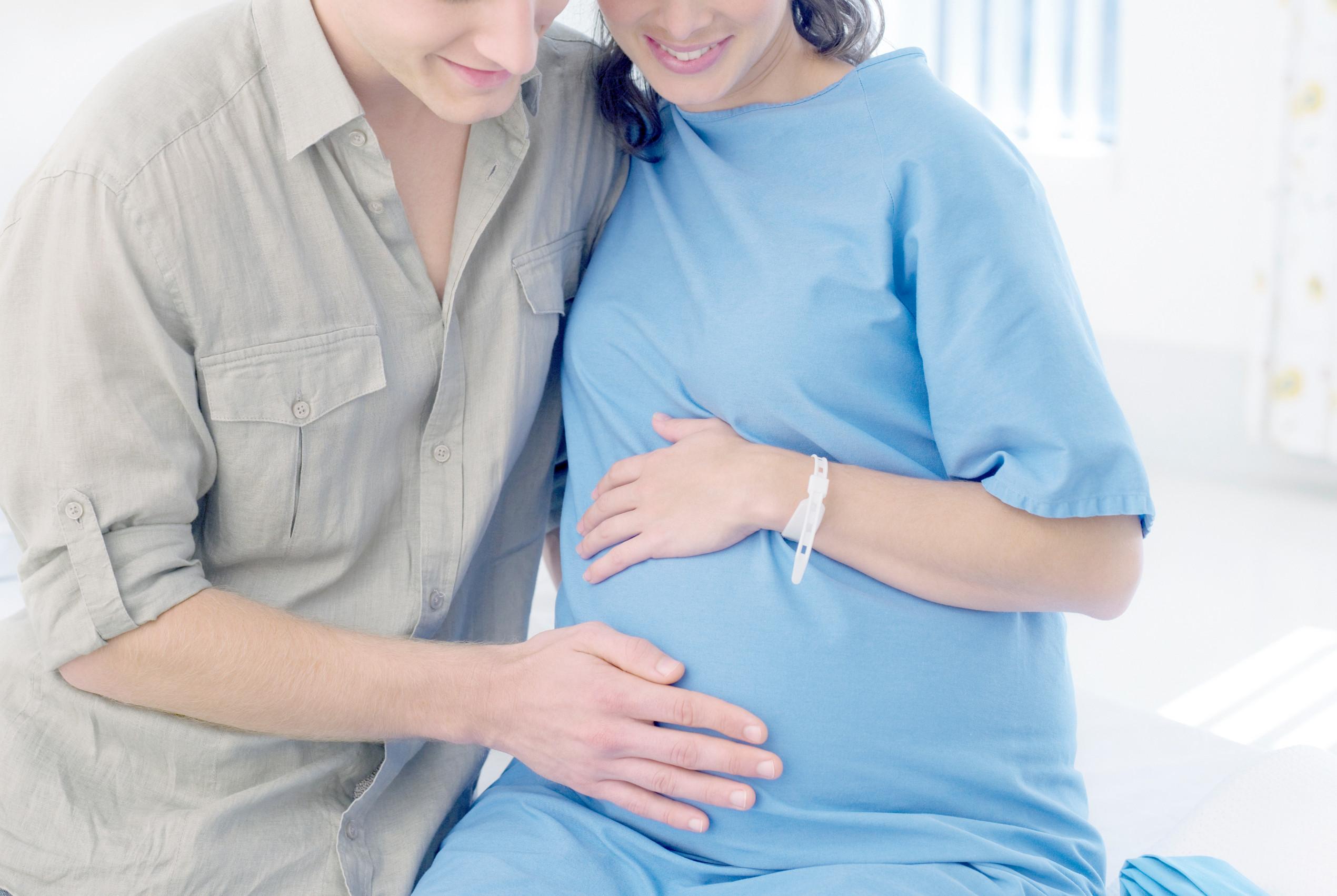 Doula under förlossningen